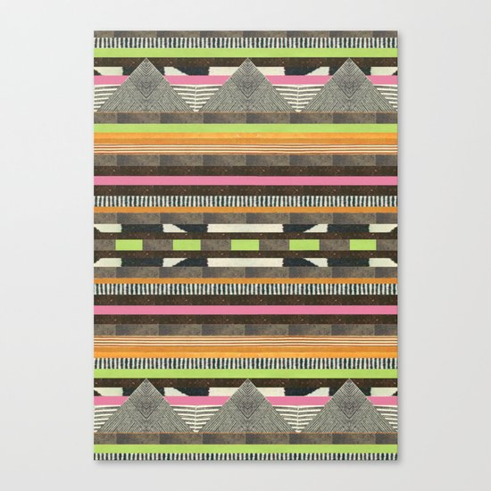 DG Aztec No. 2 Canvas Print
