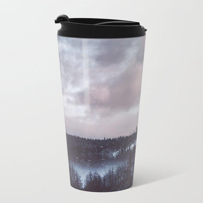 Winter II Metal Travel Mug