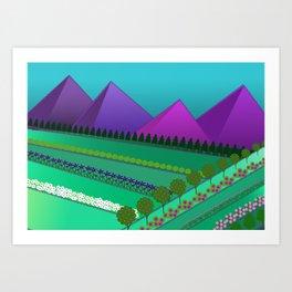Fields of Dreams Art Print