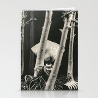 tim burton Stationery Cards featuring Oyster Boy - tim burton by PaperTigress