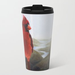 The Cardinal and the Valley Travel Mug