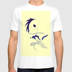 punk Mens Fitted Tee White SMALL