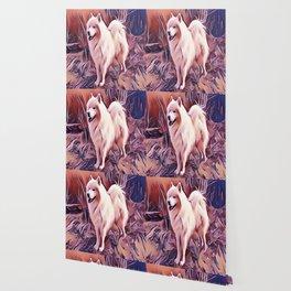 The Siberian Samoyed Wallpaper