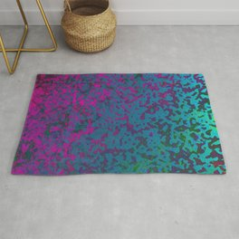 Colorful Corroded Background G296 Rug