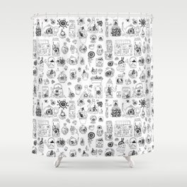 Terrariums Shower Curtain