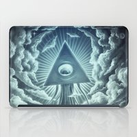 war iPad Cases featuring War Of The Worlds I. by Dr. Lukas Brezak