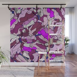 Blooming Bunch Wall Mural