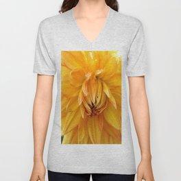 Dahlia Sun Unisex V-Neck