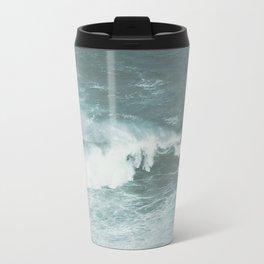 Faded sea Travel Mug