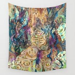 TREEPY FLEEP Wall Tapestry