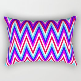 Zig Zags Rectangular Pillow