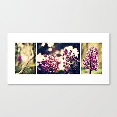 In the Garden together Canvas Print