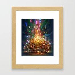 Cafe Big Bun Framed Art Print