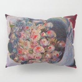"""Auguste Renoir """"Bouquet on a Chair (Bouquet dans une Loge)"""" Pillow Sham"""