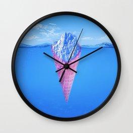 Ice Cream Berg Wall Clock