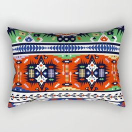 American indian ornate pattern design Rectangular Pillow