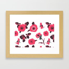 Anemones Framed Art Print