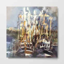 Harbour Metal Print