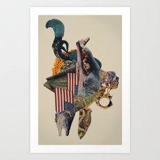 The Jackal Art Print