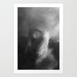 Ruin In The Sky  Art Print