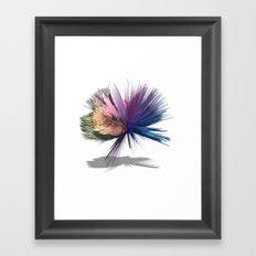 Sharp Edges Framed Art Print