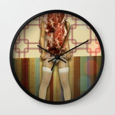 Tenderloin Wall Clock
