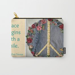 Peace Patch Carry-All Pouch