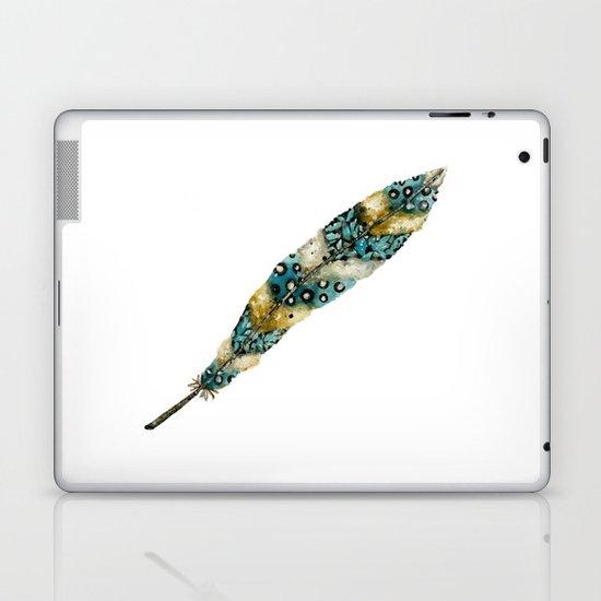 Moonlight Feather Laptop & iPad Skin