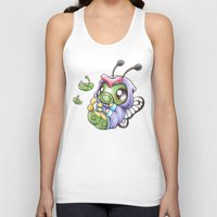 projectrocket Tank Tops featuring Just wanna be Free! by Randy C
