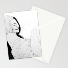 Happiness(illustration) Stationery Cards