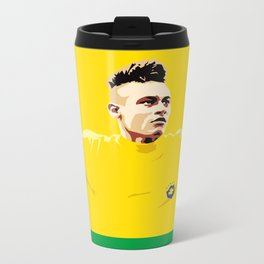 Neymar Brasil Metal Travel Mug