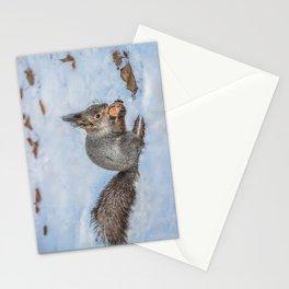 Hard nut to crack Stationery Cards
