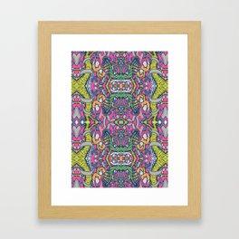 Mirrored World Framed Art Print