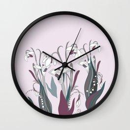 spring 1 Wall Clock