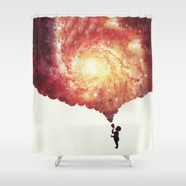 The universe in a soap-bubble! Shower Curtain