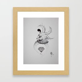 Not Your Typical Diamond in the Rough Framed Art Print