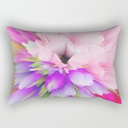 flower bloom c Rectangular Pillow