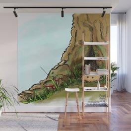 Peekink Hedgehog Wall Mural