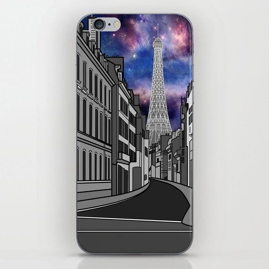 Paris: The Center of the Universe iPhone & iPod Skin
