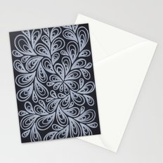 White Drops Stationery Cards