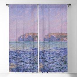 Claude Monet - Shadows on the Sea - Cliffs at Pourville Blackout Curtain