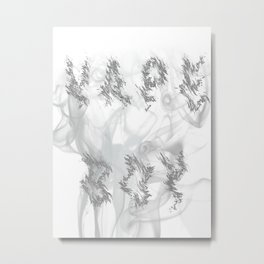 Vaper Vape Lovers Design Metal Print