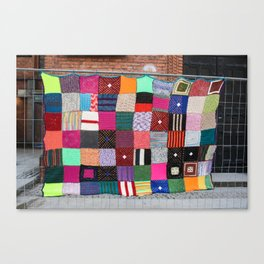 The Yarns Are Taking Over Canvas Print