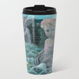 Wonderland Metal Travel Mug