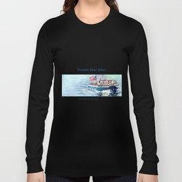 Wooden Boat Blues Long Sleeve T-shirt