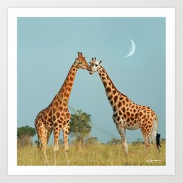 kiss the ones you love. Art Print