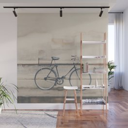 a very masculine bicycle Wall Mural