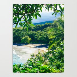 Hamoa Beach Hana Maui Hawaii Poster