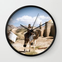 Jerusalem 1187 Wall Clock
