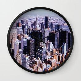 New York City // Retro 17 Wall Clock